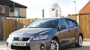 lexus used car croydon lexus ct200h hybrid se l auto bluetooth full leather heated seats