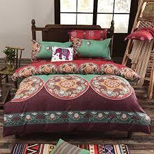 hippie comforter amazon com