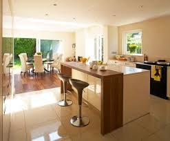 kitchen with island and breakfast bar kitchen kitchen island with breakfast bar design ideas in modern