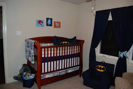 Baby Nursery Bedding Sets Neutral by Country White Nursery Crib With Colorful Blue And Red Batman