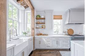 modern farmhouse kitchen cabinets white the 15 most beautiful modern farmhouse kitchens on