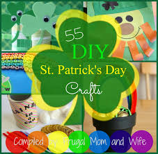 frugal mom and wife 55 diy st patrick u0027s day crafts