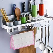 barre pour ustensile de cuisine enko rack mural de cuisine multifonctionnel cuisine organisation