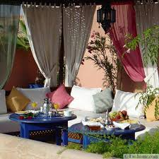Moroccan Patio Furniture 20 Moroccan Decor Ideas For Exotic And Glamorous Outdoor Rooms
