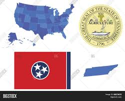 Map Of Tennessee State by Vector Illustrator Of Tennessee State Contains High Detailed Map
