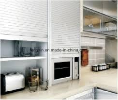 garage door for kitchen cabinet roller shutter for kitchen cabinets rolling door china
