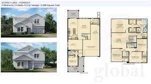5 bedroom floor plans 2 storey lake floor plans