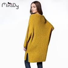 yellow sweater dress minody oversized sweater dress autumn winter casual v