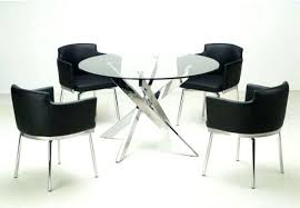 modern round dining room table modern round table lesdonheures com
