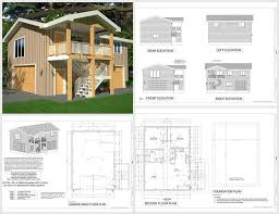 One Car Garage Apartment Plans 89 Best House Plans Images On Pinterest Garage Apartments Small