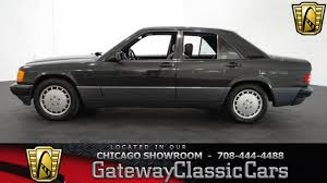 1993 mercedes benz 190e 2 6 gateway classic cars chicago 814
