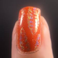 simple fall nail art using picture polish autumn keely u0027s nails
