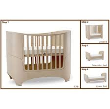 leander collection 4 in 1 convertible crib in grey pokkadots com