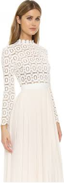 maxi wedding dress self portrait pleated crochet maxi dress wedding dress on sale 35