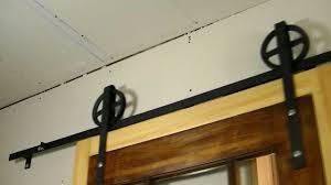 Barn Door Sliding Door Hardware by Rolling Barn Door Hardware Menards Barn Decorations