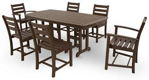 Outdoor Furniture Syracuse Ny by Trex Monterey Bay 7 Piece Dining Set U0026 Reviews Wayfair