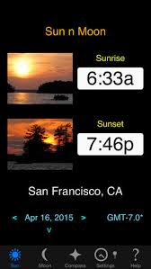 sun n moon on the app store