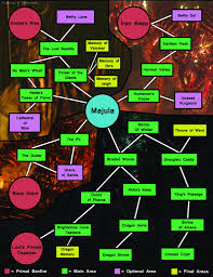 Dark Souls Map Area Connection Map Spoilers Dark Souls Ii Giant Bomb