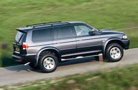 mitsubishi shogun sport station wagon review 1998 2006 parkers