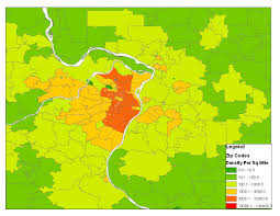 Saint Louis Zip Code Map by Is There A Best Way To Determine Comparative City Population
