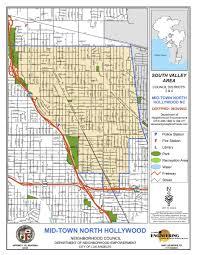 Los Angeles Map Pdf la council maps