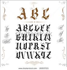 tattoo letters stock images royalty free images u0026 vectors