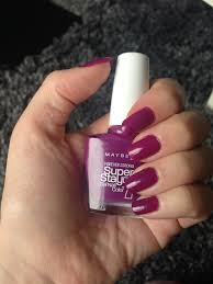 my holy grail nail polish maybelline 7 day super stay gel nail