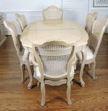 Thomasville Dining Room by Thomasville French Provincial Style Dining Table And Six Chairs Ebth