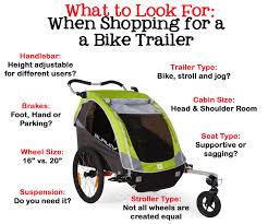 bike trailers the complete guide to choosing the best bike