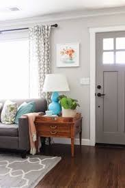 gray painted doors simple chic design behr paths and elephant love