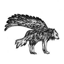 wolves wings images winged wolves wallpaper background