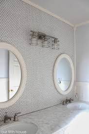 Modern Bathroom Wall Sconces by Bathroom Awesome Walker Zanger Tile Wall With Wall Sconces And