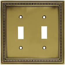 Wall Mounts For Decorative Plates Hampton Bay Subway Tile Decorative Quadruple Switch Plate Flat