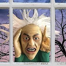 amazon com scary peeper electronic tapping window halloween