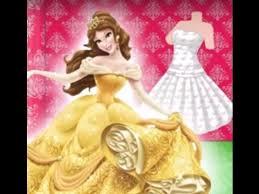 disney princess games princess belle dream dress u2013 disney