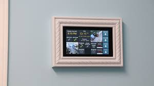 wall mounted amazon fire 7 tablet for home automation