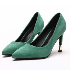 compare prices on green womens dress shoes online shopping buy