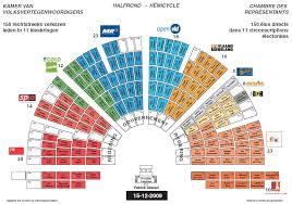 chambre belgique la répartition actuelle des sièges à la chambre par circonscription