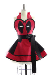 Personalized Aprons For Women Retro Apron Deadpool Womens Costume Apron Kitchen