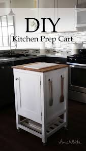 building your own kitchen island diy kitchen island prep cart project tutorial build your own