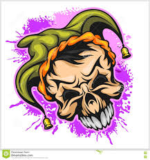 Scary Halloween Monsters by Evil Scary Clown Halloween Monster Joker Character Vector