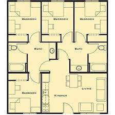 4 Bedroom House Designs Unlockedmw Com Simple 4 Bedroom House Designs