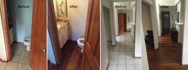 vanboening residence kitchen remodel hardwood flooring olympia