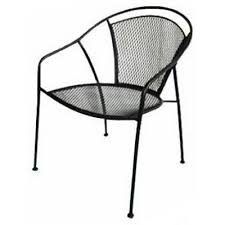 uptown collection patio bistro chair steel mesh model wi 105