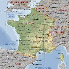 geographical map of germany geographical map of and informations about country