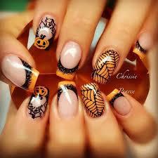 50 spooky halloween nail art designs nail nail and halloween