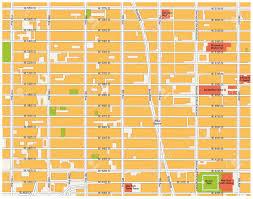 New York Manhattan Map Theater District Map Midtown Manhattan New York City Royalty