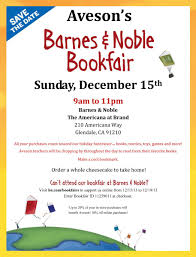 Barnes And Nobles Games Barnes U0026 Noble Bookfair Sunday December 15th Aveson Charter