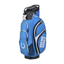 wilson nfl cart golf bag indianapolis colts wilson sporting goods