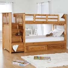 Solid Wood Bunk Bed Plans by Bedroom Endearing Design Ideas Of College Dorm With Wooden Bunk